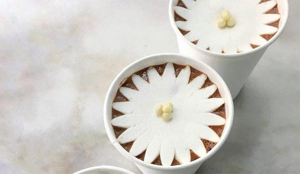 Best for Insta-envy: Dominique Ansel's Blossoming hot chocolate