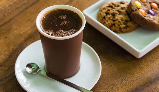 Best for variety: L'Artisan du Chocolat hot chocolate