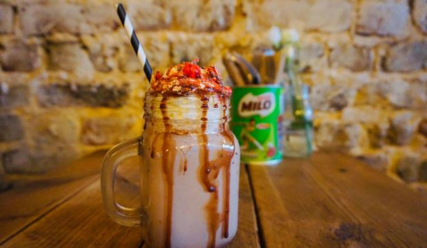 Best for total indulgence: Brickwood's Milo hot chocolate