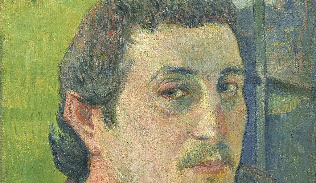 Paul Gauguin Self-Portrait Dedicated to Carrière, 1888 or 1889; National Gallery of Art, Washington, DC; Collection of Mr. and Mrs. Paul Mellon (1985.64.20);  Image courtesy of the Board of Trustees, National Gallery of Art, Washington, DC.