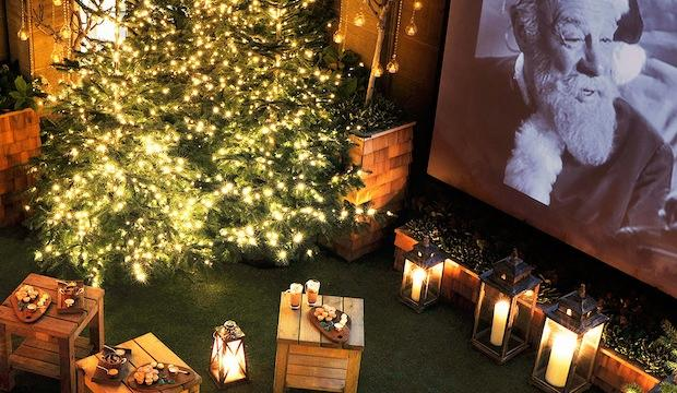 Cosy up here: The Berkeley Rooftop Winter Cinema