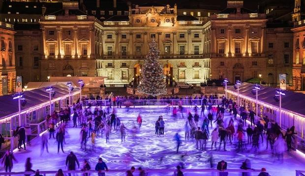 Be smooth here: Skate at Somerset House