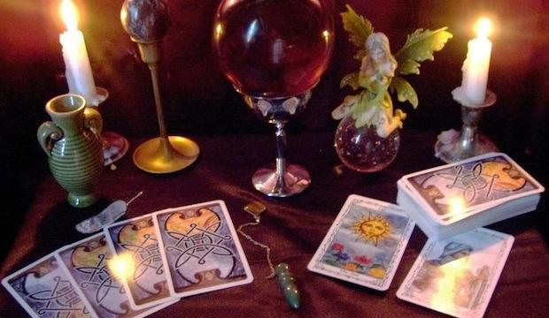 Get spooky with tarot readings
