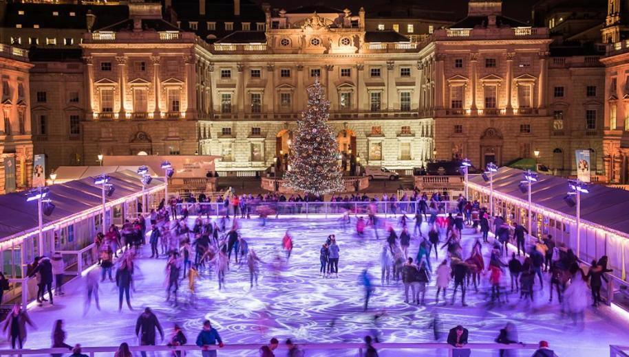 Glide across London's loveliest ice rink