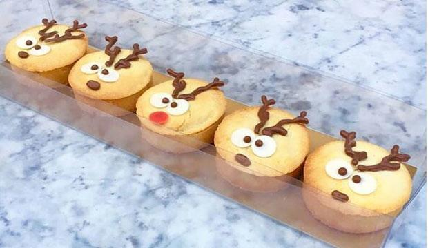 Best for cute factor: Dominique Ansel's Rudolph mince pies