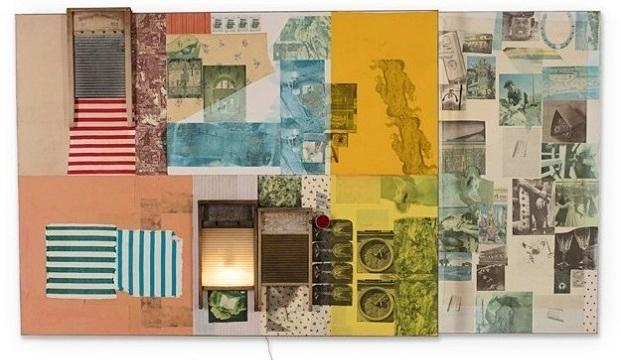 Robert Rauschenberg: Spreads 1975-83, Galerie Thaddaeus Ropac, Ely House