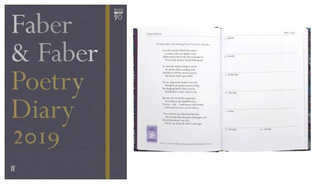 Pages of poetry: Faber & Faber Diary