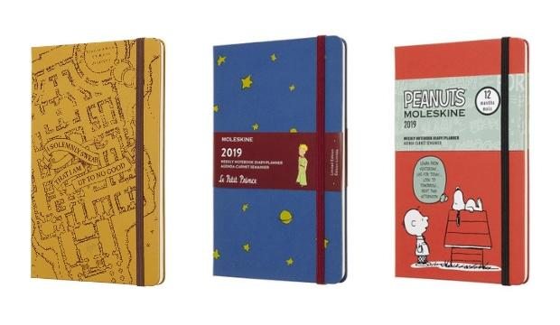 Kids at heart: Moleskine's Limited Edition Planners
