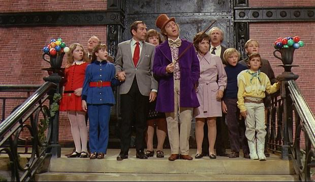 Willy Wonka and the Chocolate Factory, Channel 5