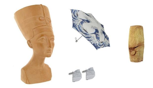 British Museum Shop: history buffs, archaeologists, collectors of replicas & sculpture