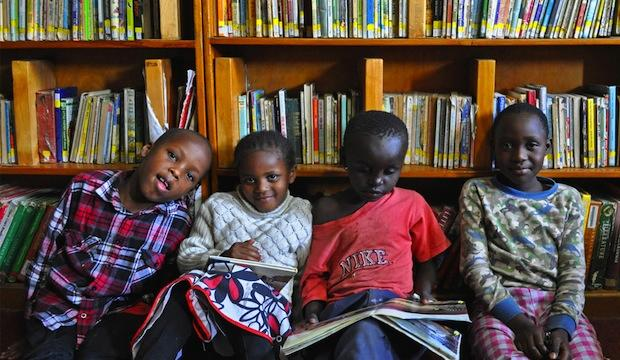 The Charity spreading the joy of reading far and wide: Book Aid