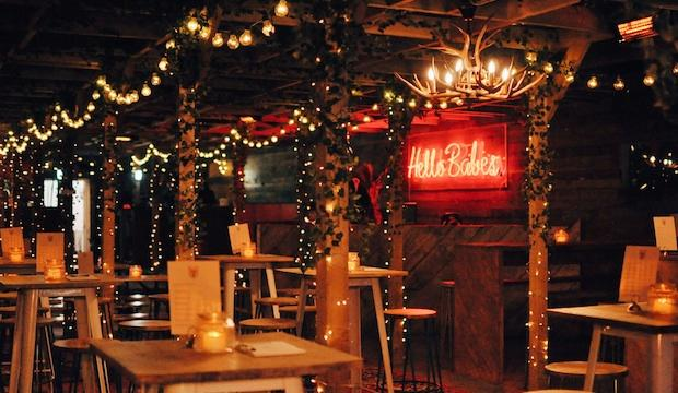 CHRISTMAS AT THE BUSSEY ROOFTOP BAR