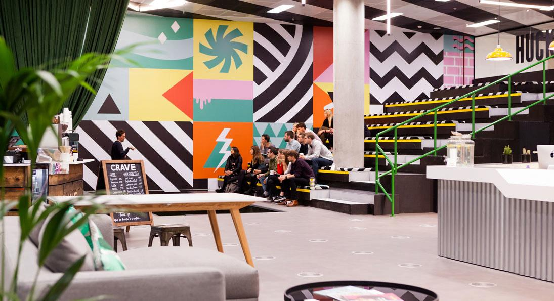 Meet the coolest childcare options available. Photo: Huckletree West