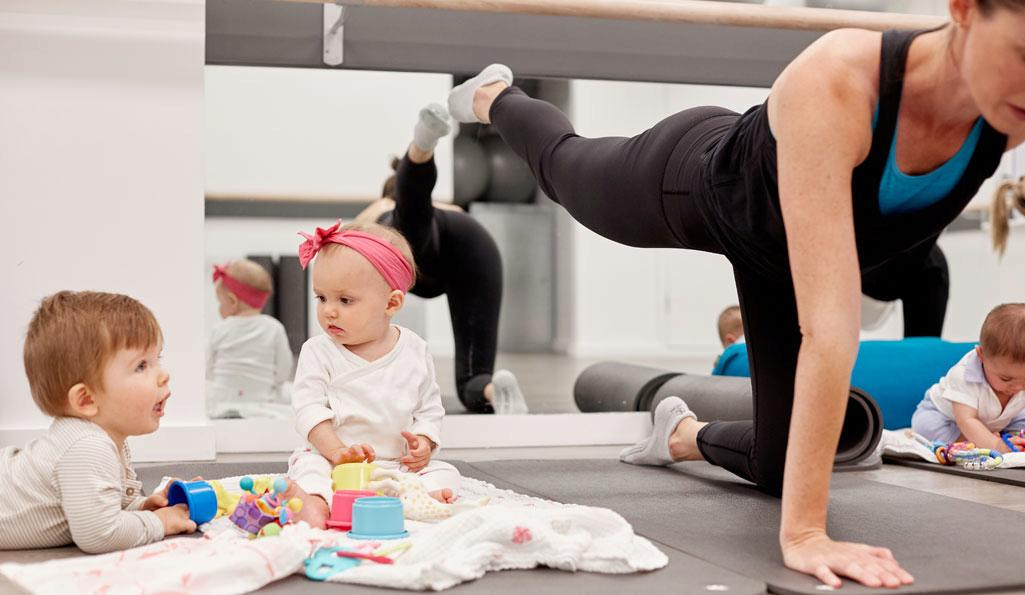 Working out with a baby? No sweat at Babies on Board at Xtend Barre