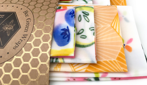 Wrap all of their snacks and lunches in beeswax wraps
