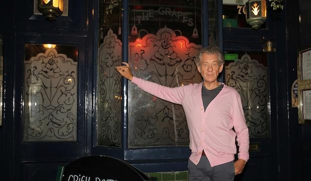 The pub owned by Sir Ian McKellen: The Grapes