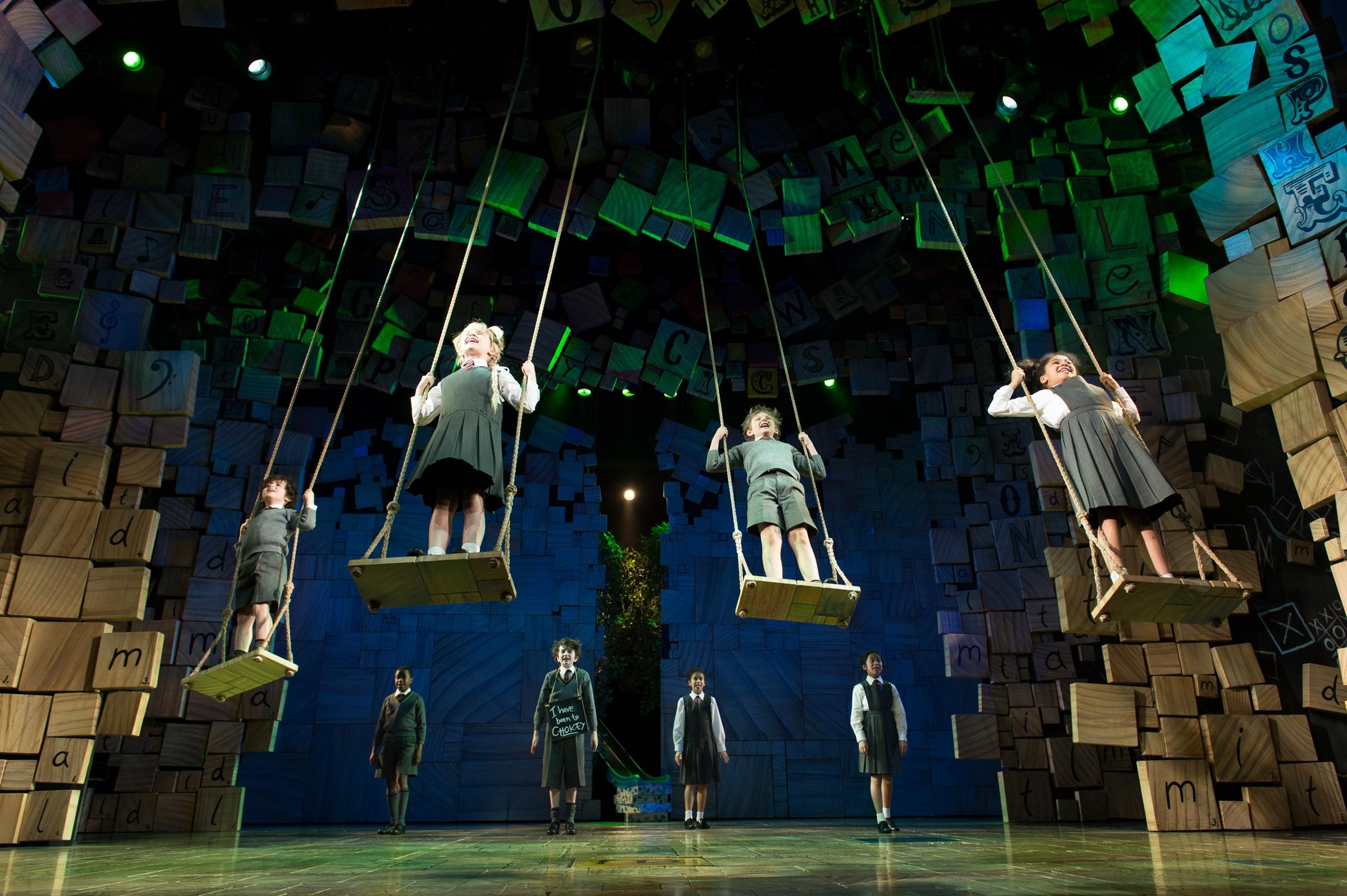 Matilda the Musical, Cambridge Theatre review [STAR:5]