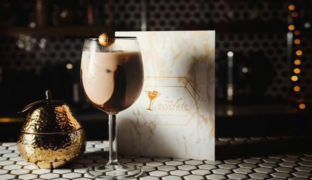 Give in to your sweet tooth: The Chocolate Cocktail Club