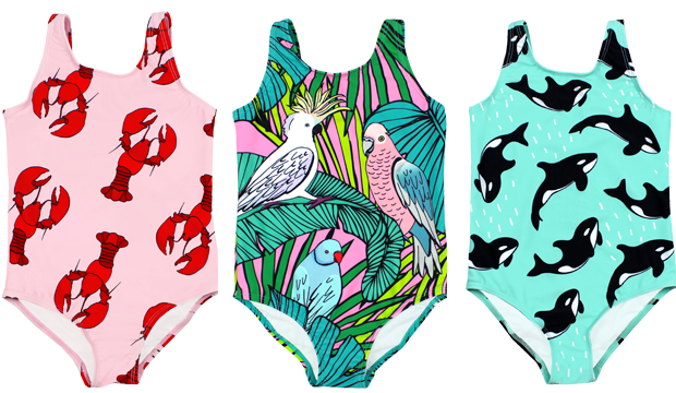 Swimsuits to appeal to every child. Photo: Batoko