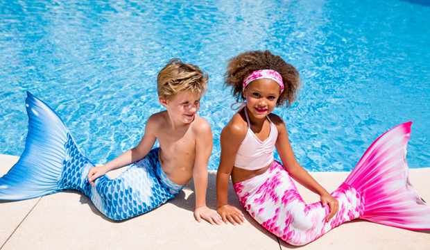 Best swim accessory to win parent of the year: Planet Mermaid mermaid tails