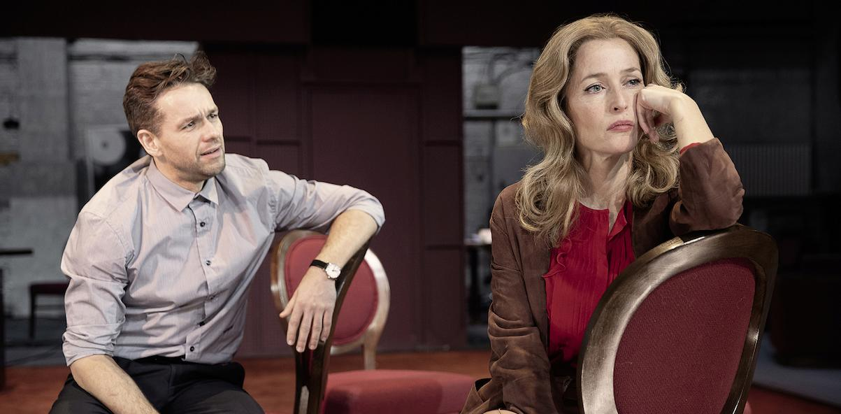 JULIAN OVENDEN AND GILLIAN ANDERSON