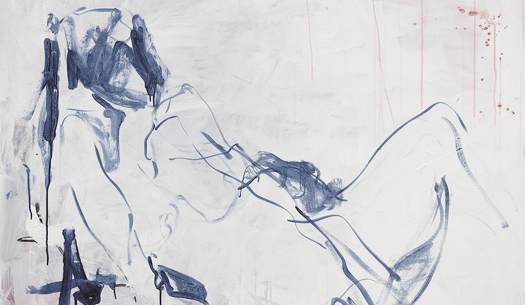 Detail: Tracey Emin, Sometimes There is No Reason, 2018