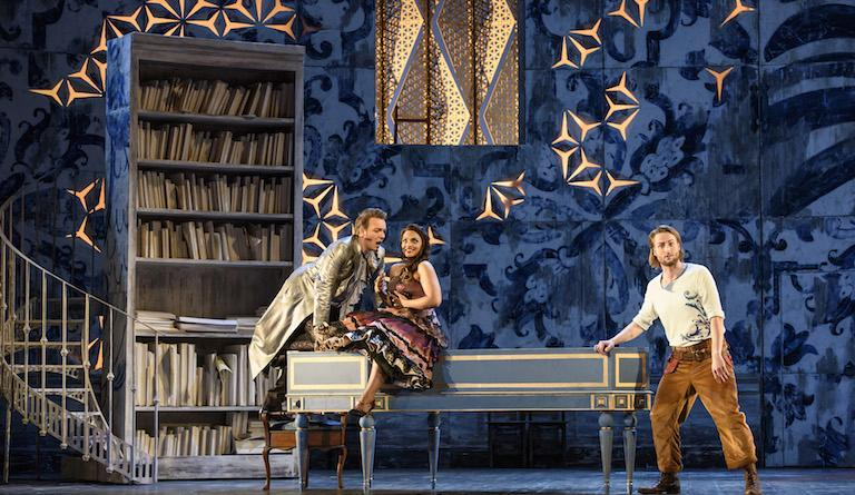 The hilarious music lesson scene in Il Barbiere di Siviglia at Glyndebourne