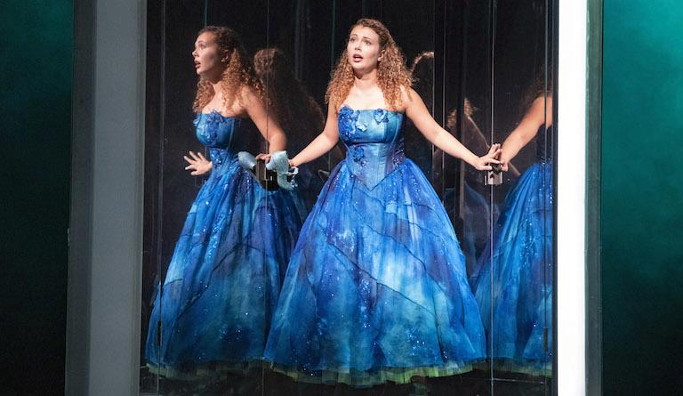 Nothing is quite what it seems in Glyndebourne's new Cendrillon. Photo: Richard Hubert Smith
