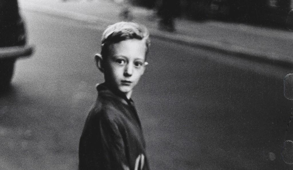 Boy stepping off the curb, NYC 1957–58, by Diane Arbus. Photograph: The Estate of Diane Arbus