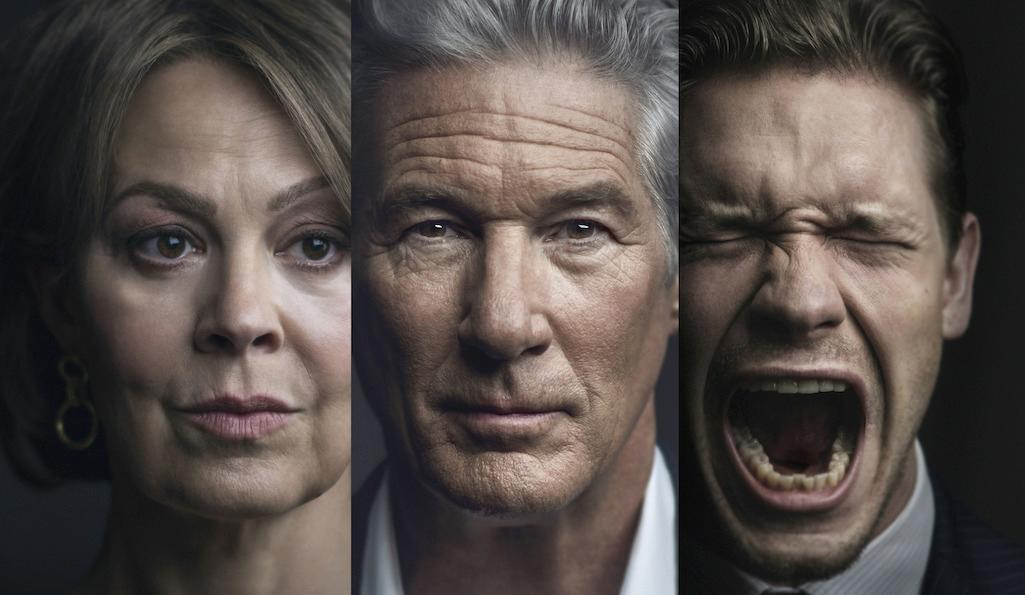 Helen McCrory, Richard Gere, and Billy Howle in MotherFatherSon