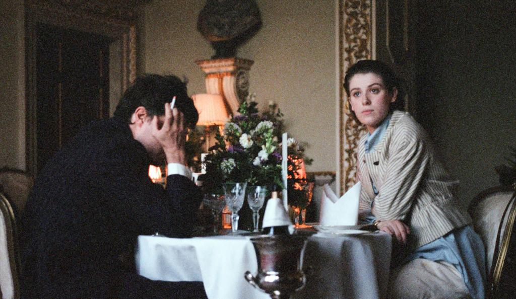 Tom Burke and Honor Swinton Byrne in The Souvenir