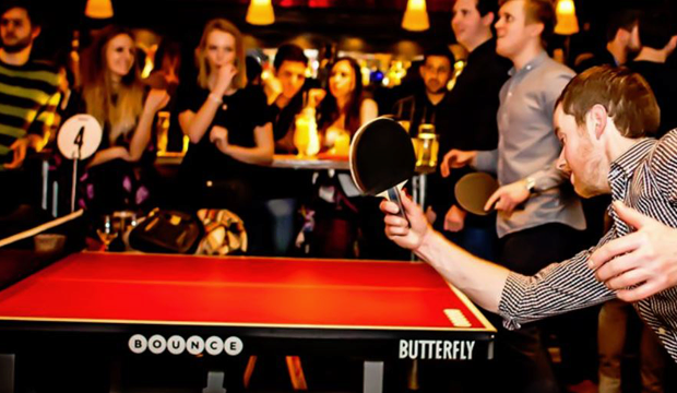 Practice your ping pong at Bounce