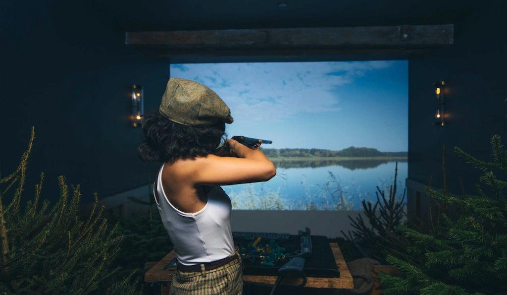 The foodie one: Virtual shooting range