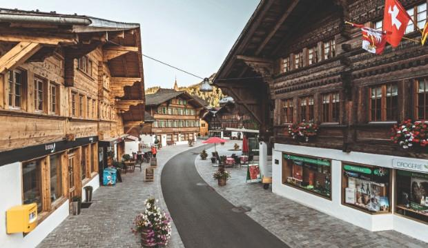 Epic scenery and village vibes in Gstaad
