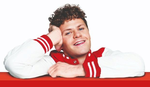 Jay McGuiness as Josh Baskin in BIG. Photo by Matt Crockett