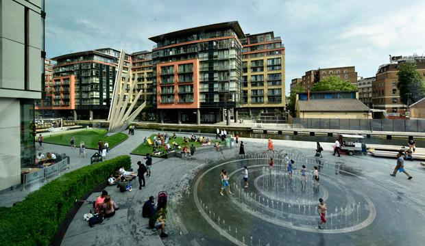 Best for XX: Merchant Square fountain, Paddington