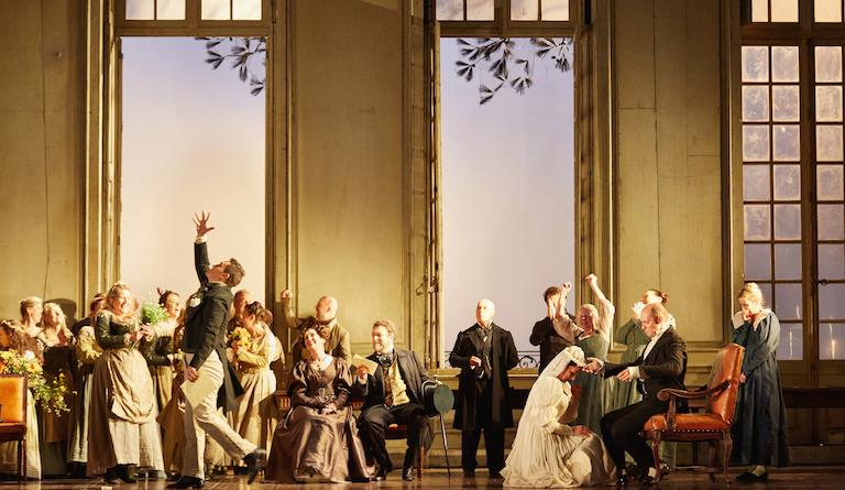 A wedding hides a secret assignation in The Marriage of Figaro. Photo: Mark Douet