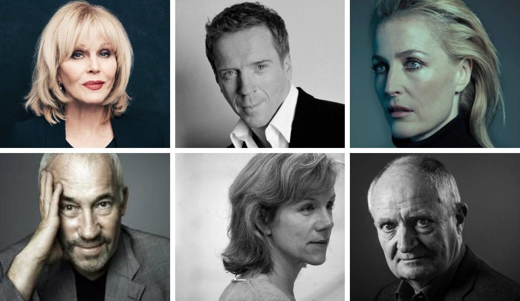 Joanna Lumley, Damian Lewis, Gillian Anderson, Simon Callow, Juliet Stevenson and Jim Broadbent confirmed to star in Park Theatre's Whodunnit [Unrehearsed]