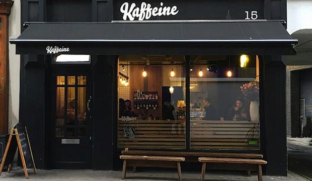 The cosy one: Kaffeine, Fitzrovia