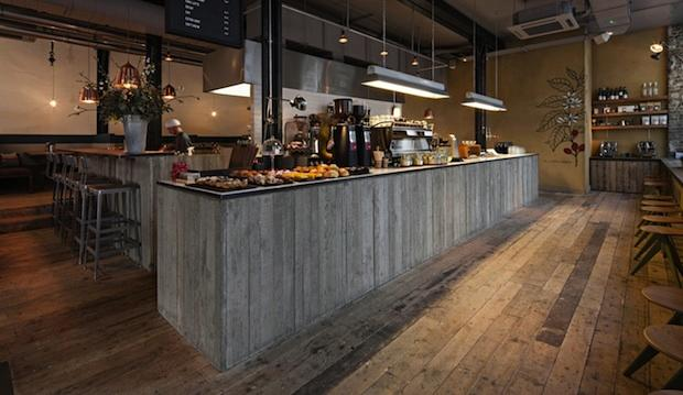 The roasting-on-site one: Ozone coffee, Shoreditch