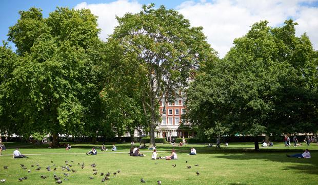Party at the May Fair in Grosvenor Square