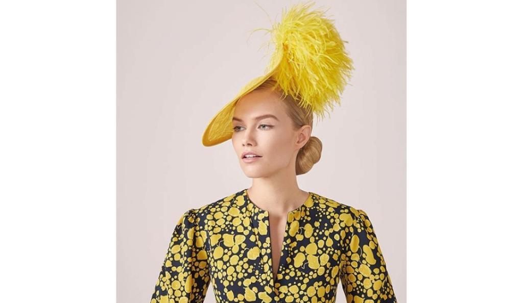 Laya Leigh hat available from Fenwick of Bond Street
