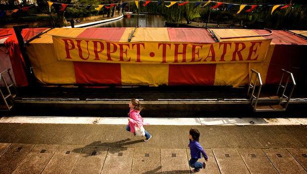 The Puppet Theatre Barge, Little Venice