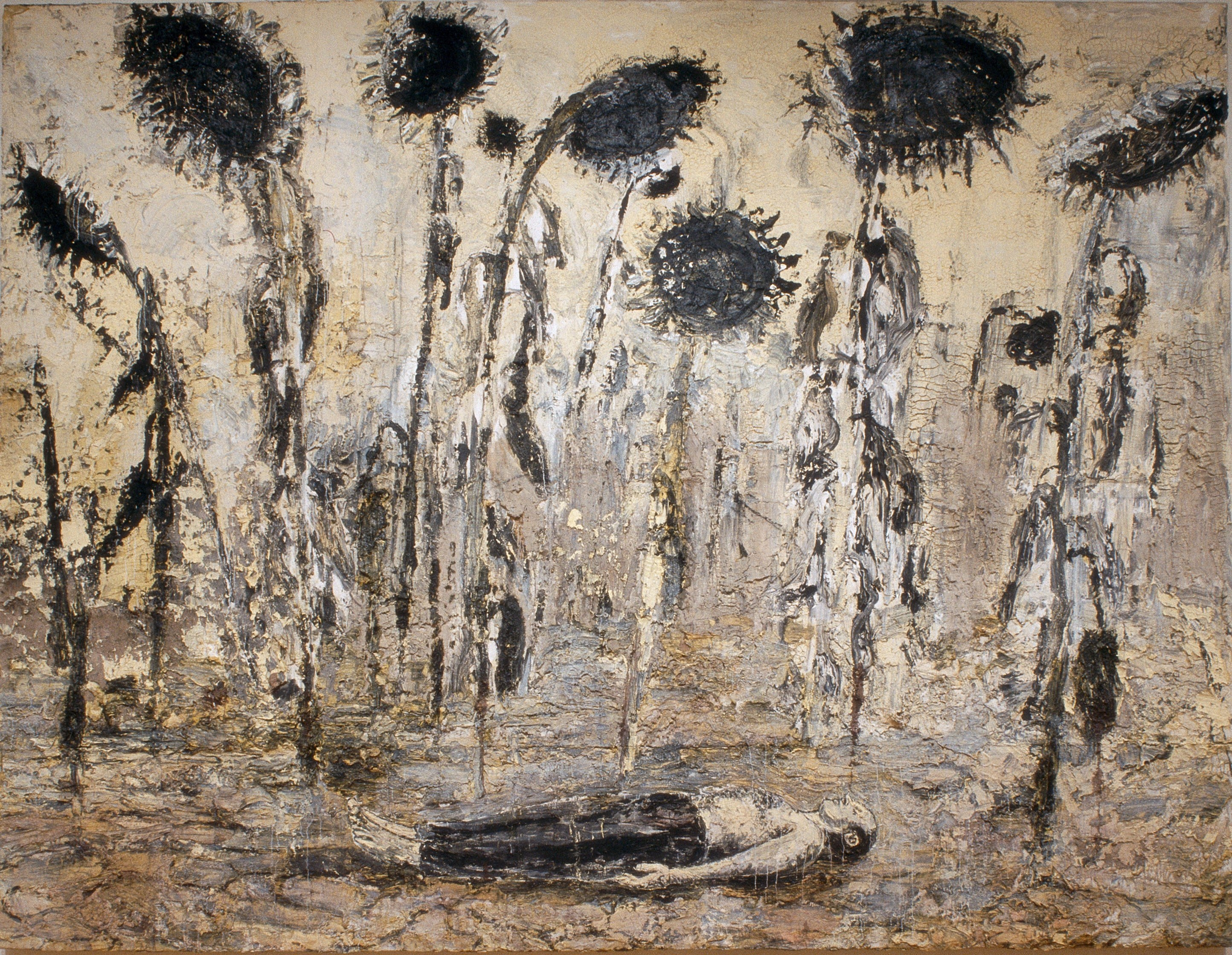 'The Orders of the Night', 1996, by Anselm Kiefer, courtesy of Royal Academy
