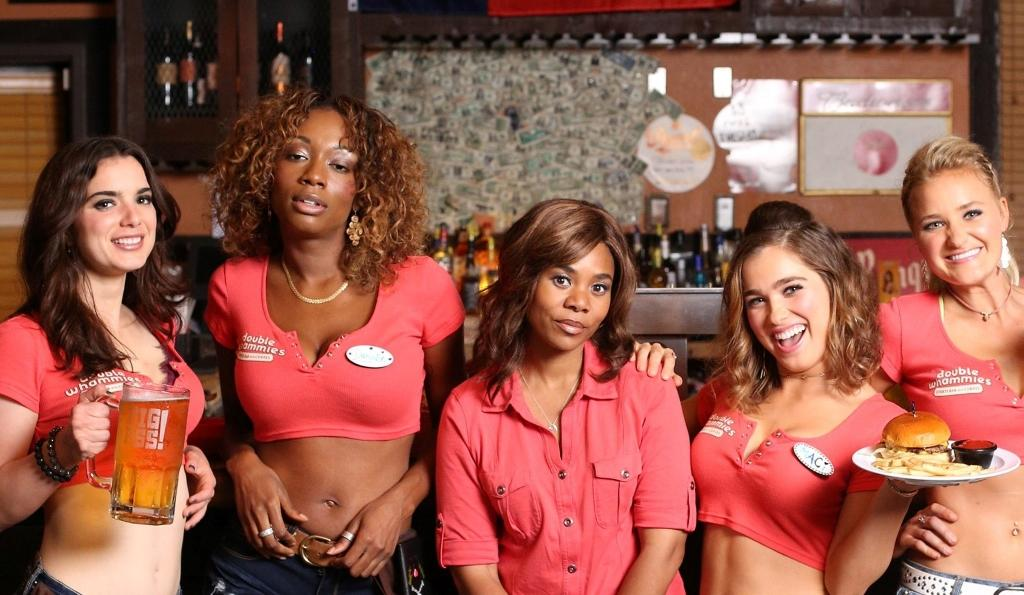 Support the Girls: Regina Hall (centre) and the 'sisterhood'
