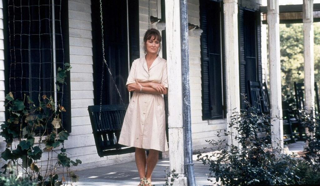 Meryl Streep in Clint Eastwood's 1995 film version of The Bridges of Madison County