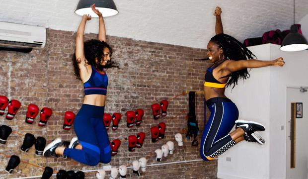 Best trampolining workout: Rebounding at Frame