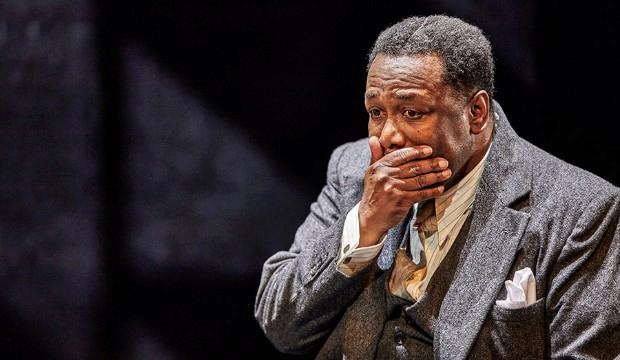 Wendell Pierce: Death of a Salesman, Young Vic Theatre. Photo by Brinkhoff Morgenburg