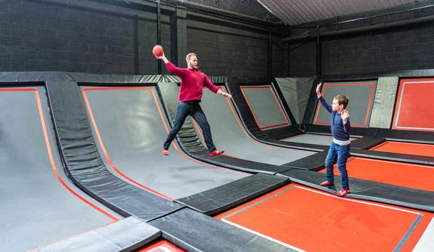 Best trampolining with go-karting: Jump London