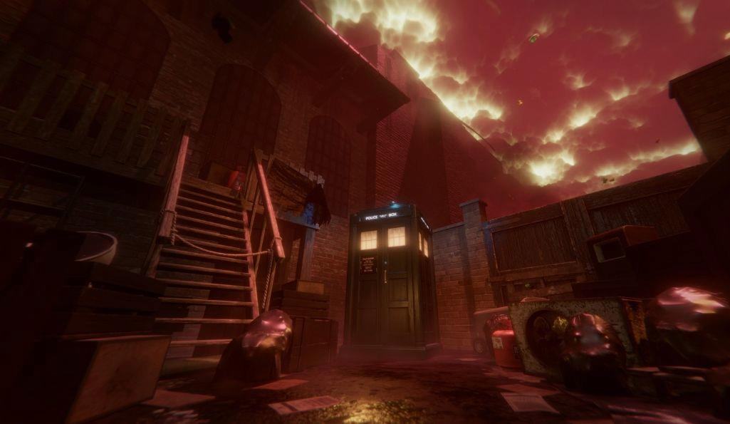 Doctor Who: The Edge of Time, a VR video game